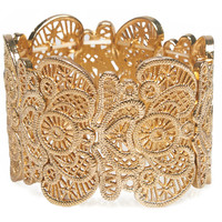 Filigree Stretch Bracelet | Wet Seal