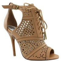 Womens Naughty Monkey Heaven On Earth Heel, Tan, at Journeys Shoes