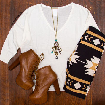 Starlight Aztec leggings
