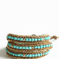 High Dignity Beaded Wrap Bracelet - $22.00 : ThreadSence.com, Your Spot For Indie Clothing & Indie Urban Culture