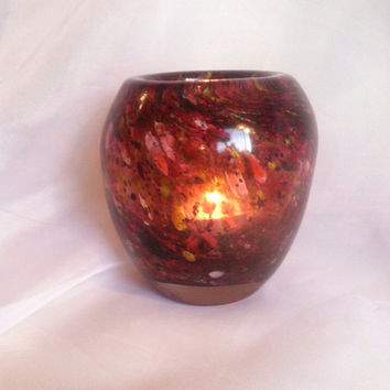 Southwest Collection - Hand Blown Glass Votive