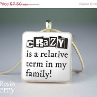 ON SALE: art scrabble tile pendant,phrase resin pendants,quotes photo charm,love jewelry pendants- P0703SI