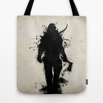 Apocalypse Hunter Tote Bag by Nicklas Gustafsson