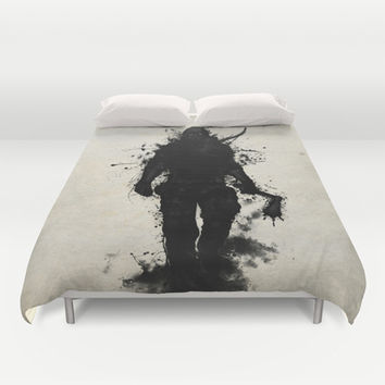 Apocalypse Hunter Duvet Cover by Nicklas Gustafsson
