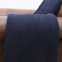 Cecily Chenille Jacquard Knit Throw