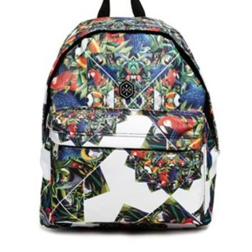 Hype Backpack in Parrot Keldiscope Print