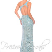 Precious Formals Fitted Prom Dress P9017