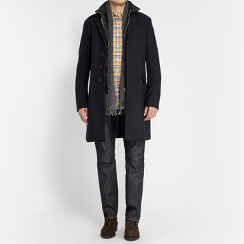 Burberry Brit - Wool and Cashmere-Blend Single-Breasted Overcoat | MR PORTER