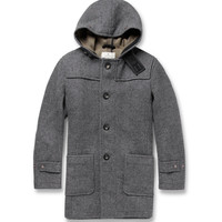 Private White V.C. - Hooded Wool Duffle Coat | MR PORTER