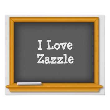 Old Time Blackboard, Customize Your Text
