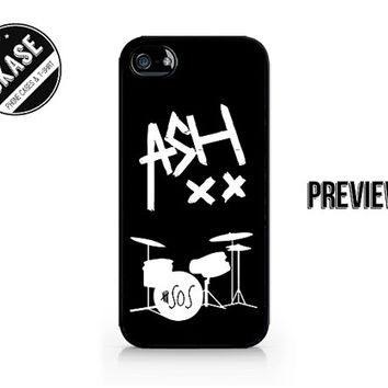 ASH XX - Ashton Irwin - Ash - 5SOS - 5 Seconds of Summer - Available for iPhone 4 / 4S / 5 / 5C / 5S / Galaxy S3 / S4 / S5 - 644