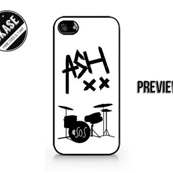 ASH XX - Ashton Irwin - Ash - 5SOS - 5 Seconds of Summer - Available for iPhone 4 / 4S / 5 / 5C / 5S / Galaxy S3 / S4 / S5 - 645