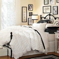 Amanda Black + White Bedroom
