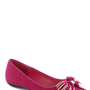 It's Fate Flat in Fuchsia | Mod Retro Vintage Flats | ModCloth.com