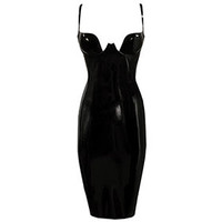 Couture Latex Paris Cup Pencil Dress | Atsuko Kudo