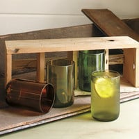 Recycled Wine Bottle Tumblers - Glassware - Tabletop - NapaStyle