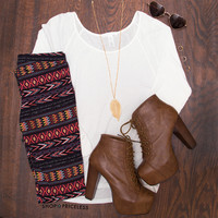 Katie Aztec Leggings