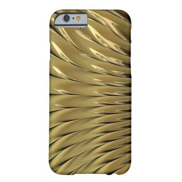 """Gold"" Fractal iPhone 6 Case"