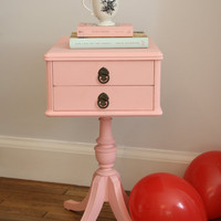 Sweet Pink Side Table