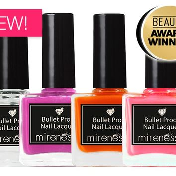 *SP NEW Summer Love Colour Blast Bullet Proof Nail Lacquer Collection - Mirenesse