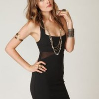 Free People Zig Zag Bodycon Dress at Free People Clothing Boutique