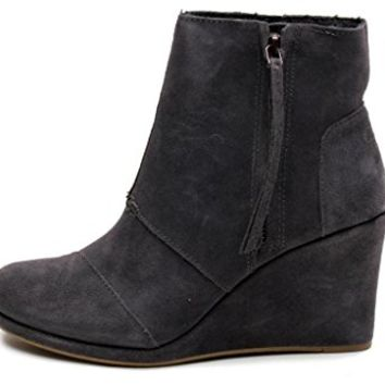 TOMS Women's Desert High Wedges Boot