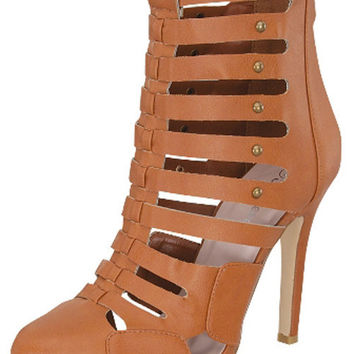 Anaya Tan Booties from shopoceansoul