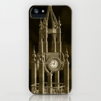 The Clock Tower iPhone & iPod Case by Texnotropio