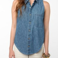 Urban Renewal Racer Back Denim Shirt