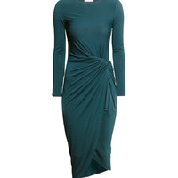 H&M - Jersey Dress - Teal - Ladies