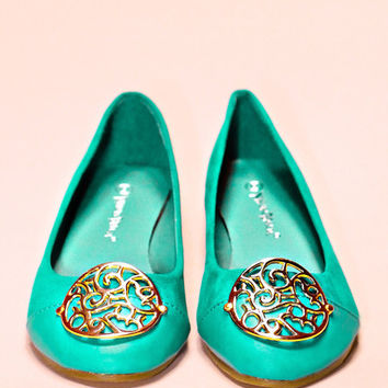 The Miss Medallion Flat