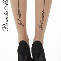 Pamela Mann Je T'aime Tights - Tights, Stockings, Shapewear and more -  MyTights.com - The Online Hosiery Store