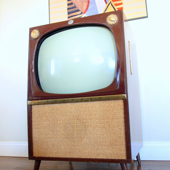 Retro vintage tv set mid century from aces finds for Modern tv set furniture