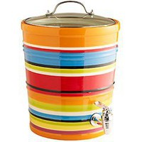 Pier 1 Imports - Product Details - Summer Stripes Drink Dispenser with Lid