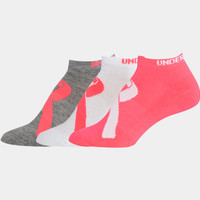 Under Armour Women's UA Power In Pink® No-Show Socks