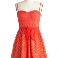 Tender Loving Carrot Dress | Mod Retro Vintage Dresses | ModCloth.com