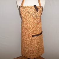 Gentle Giraffe Apron   O.O.A.K.