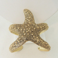 Under Da Sea Starfish Cuff -  $25.00 | Daily Chic Accessories | International Shipping