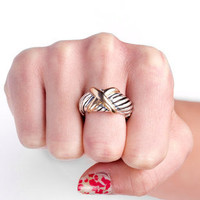 Martha Ring in Mixed Metal :: tobi