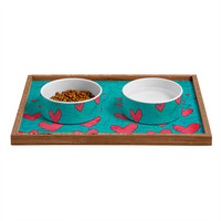 Isa Zapata Love Is In The Air 1 Pet Bowl and Tray