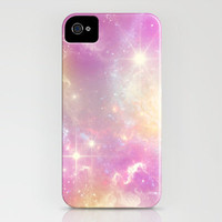 Pink Galaxy iPhone Case by haleyivers | Society6