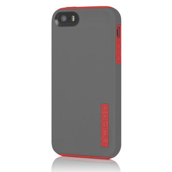 Incipio iPhone 5/5S Dual PRO Case - Grey / Bright Red