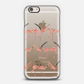 flamingos transparent iPhone 6 case by Sharon Turner | Casetify ~ get $5 off using code: 5A7DC3