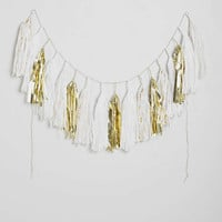 Studio Mucci Spa Classic Fringe Banner - Urban Outfitters
