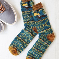 Fresh Placed Icon Boot Sock