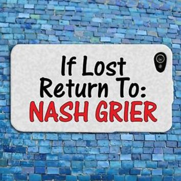 Funny Nash Grier Quote iPhone Case Cute Phone Cover Custom iPhone 4 4s 5 5s 5c