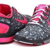 Nike Women's Free TR Connect 2 - Dark Magnet Grey / Hyper Pink-Anthracite, 7.5 B US
