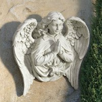 Wall Decor | Angel from the Ashes Wall Sculpture