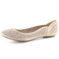 Taupe stud pumps - Ballet Pumps - Flat Shoes - Dorothy Perkins