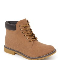 With Love From CA Timmy Two Work Boots - Womens Boots - Tan -